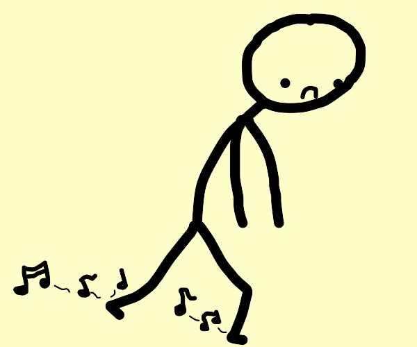 emo kid makes music when he walks