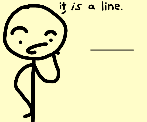 it ain't much but its an honest line