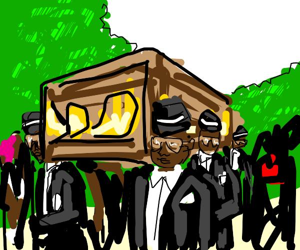 coffin dance (HD) (well done artist)