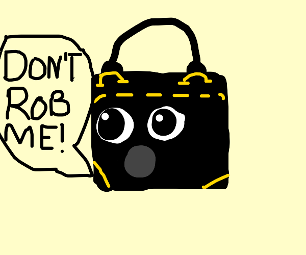 Purse doesnt want to be robbed