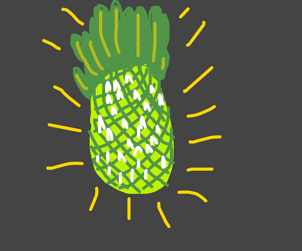 Behold! The almight green pineapple