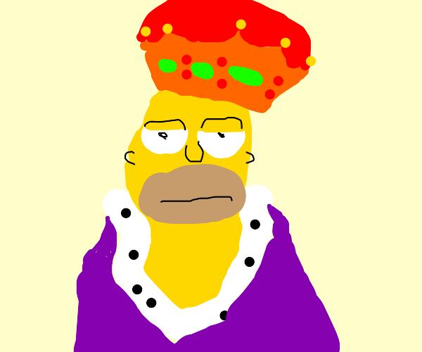 Biggie Smalls as Homer