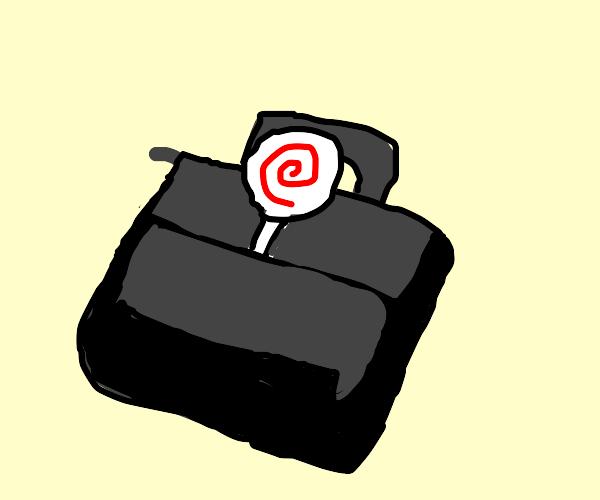 Lolipop in a Briefcase