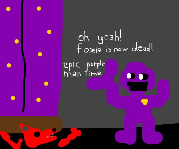 me when foxie is finally dead