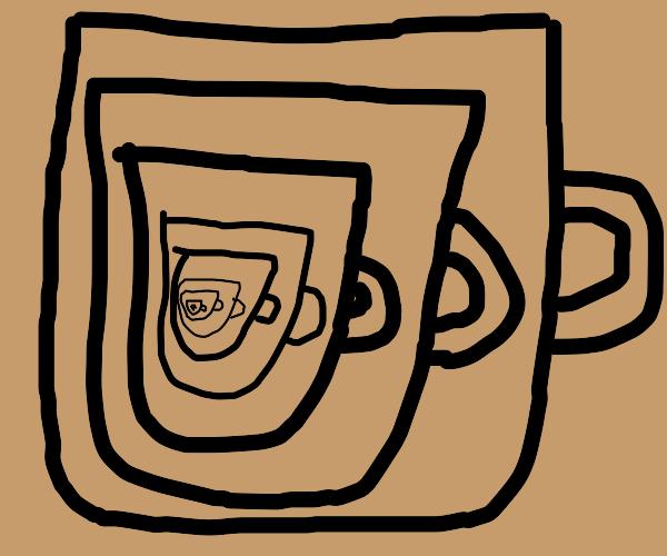 mug inside a mug inside a mug inside a mug