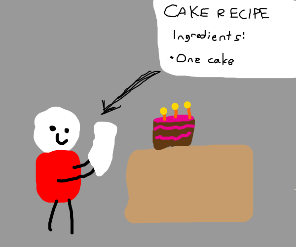 The Classic recipe for a Cake
