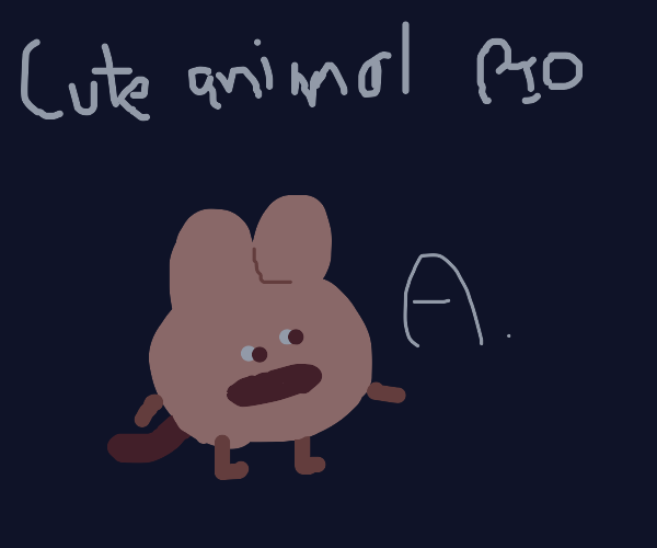 cute lil' animal pass it on