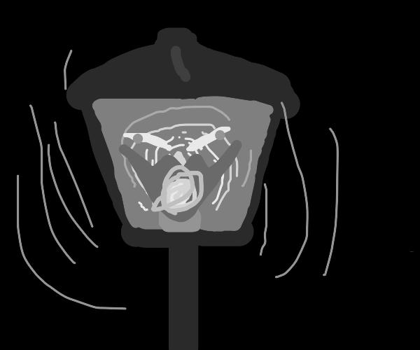 haunted lamp of murder