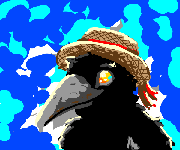 Birb with a hat