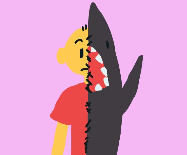 Half man half shark