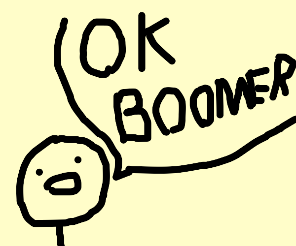 funny ok boomer joke xd
