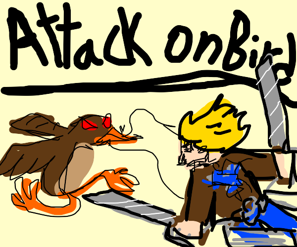 Attack On Titan:Bird Edition