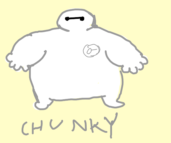 Chunky baymax