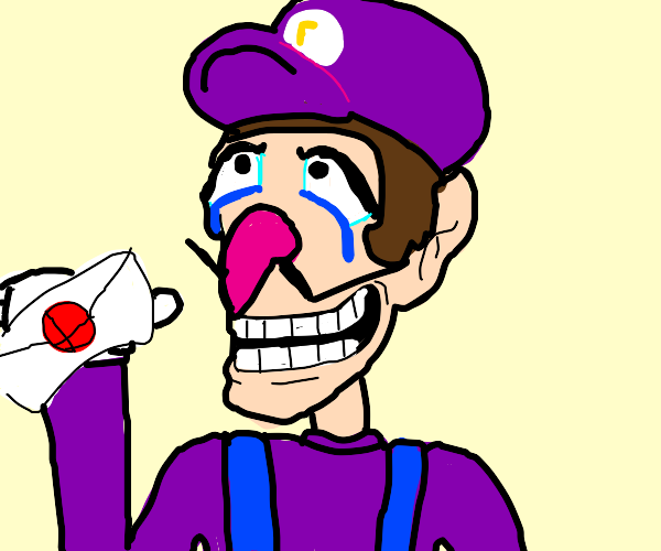 walluigi gets accepted into smash and cries