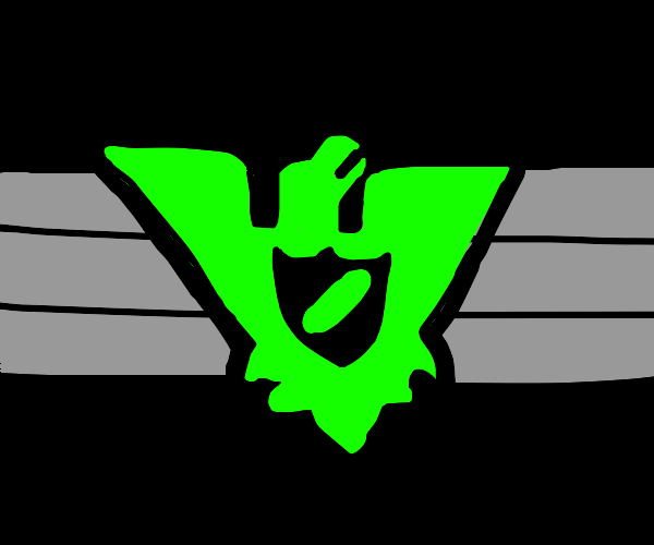 Green Arstotzkan flag