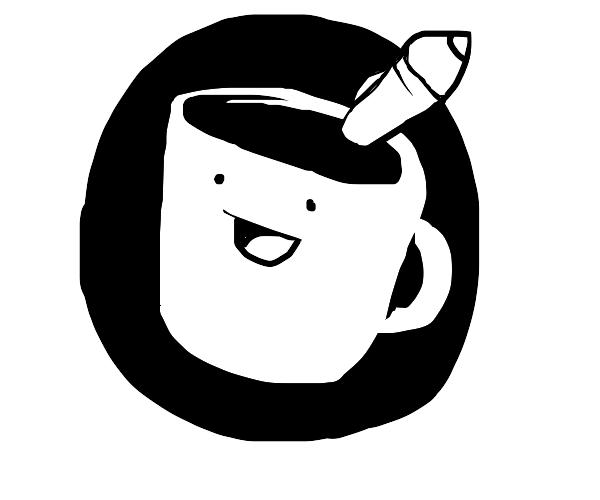 it's the drawfee mug!!