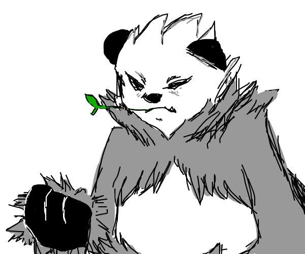 panda pokemon thats kinda edgy