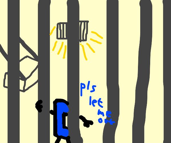 Drawception D in prison