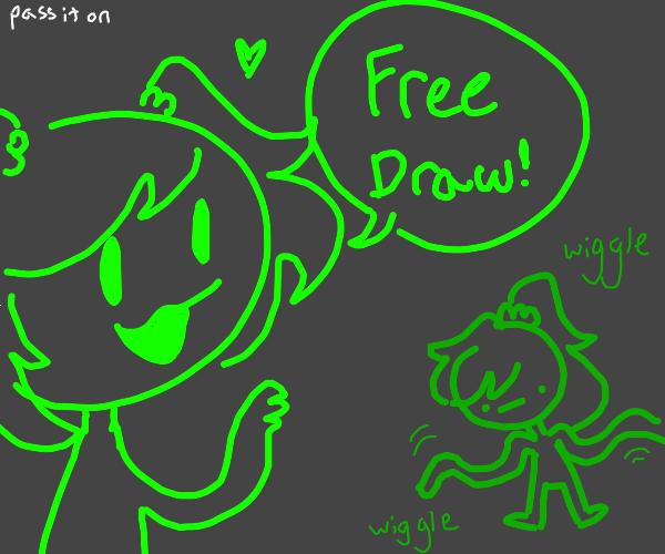 FREE DRAW P,.. I,  O