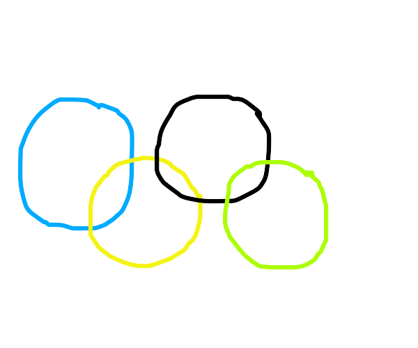 Olympics but with 4 rings