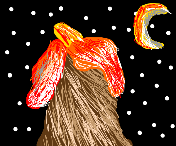 space volcano