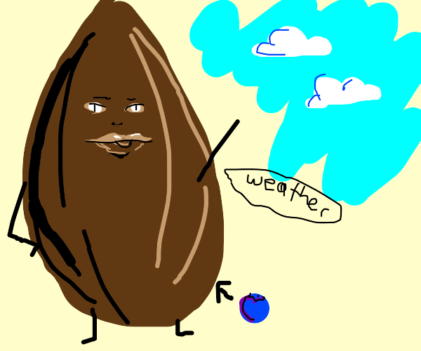 Weatherman is a blueberry flavored almond