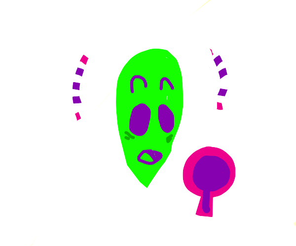 Alien thinks he is hot