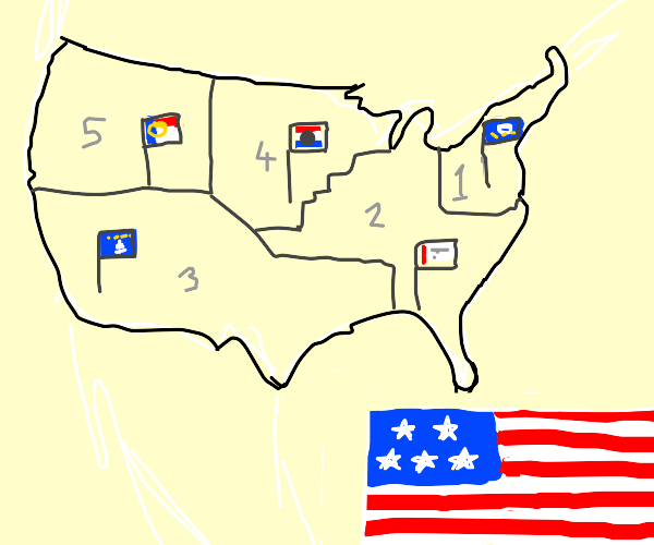 Only 5 states in America