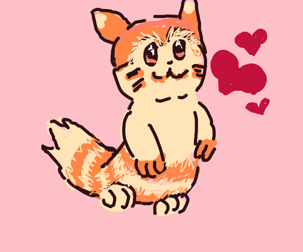 A Furret Wishes a Wonderful Valentines Day!
