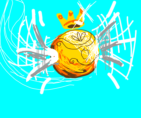 golden snitch with a crown