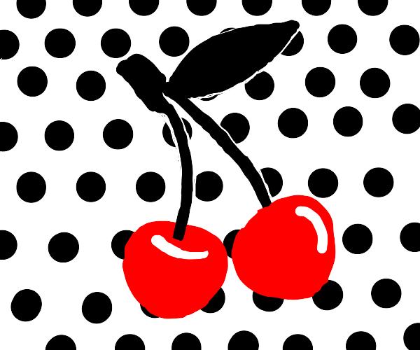 a retro cherry