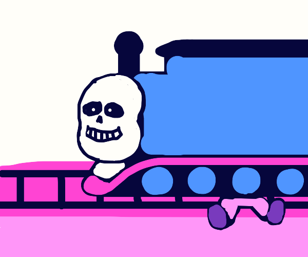 train sans doing a hit and run