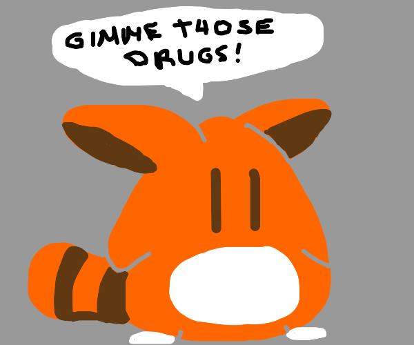 adorabol thing asking for drugs