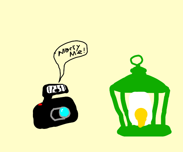 the flash proposes to green lantern