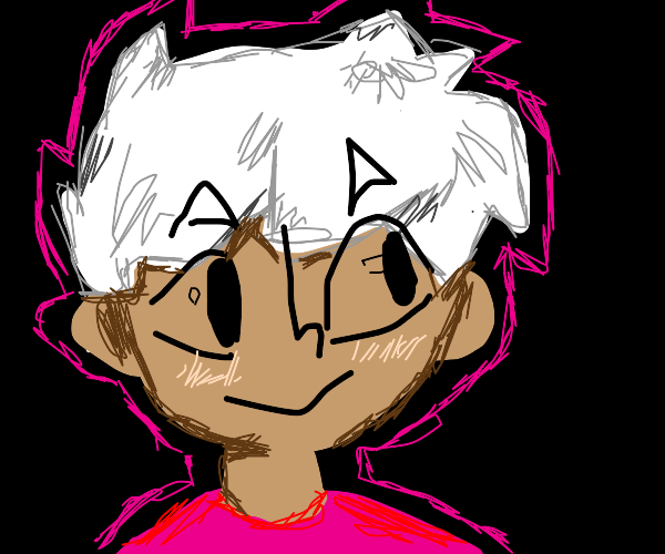 Cool white haired boi