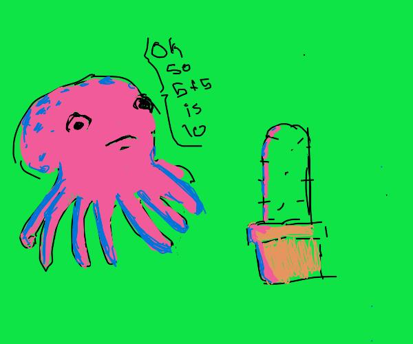 octopus teaching calculus