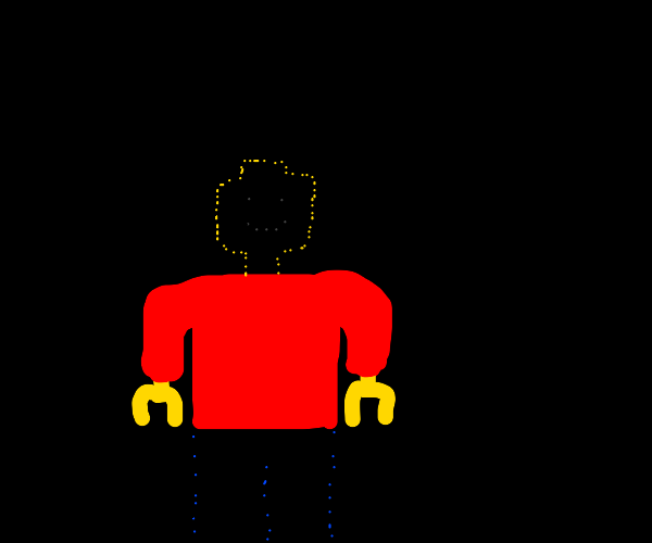 lego red shirt
