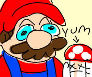 mario ate toad