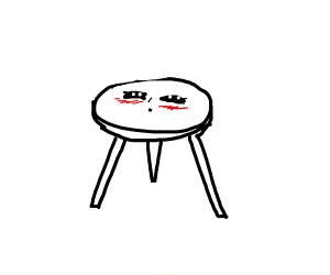 Blushing Table