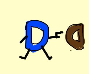 Drawception D gonna shoot Chocolate D