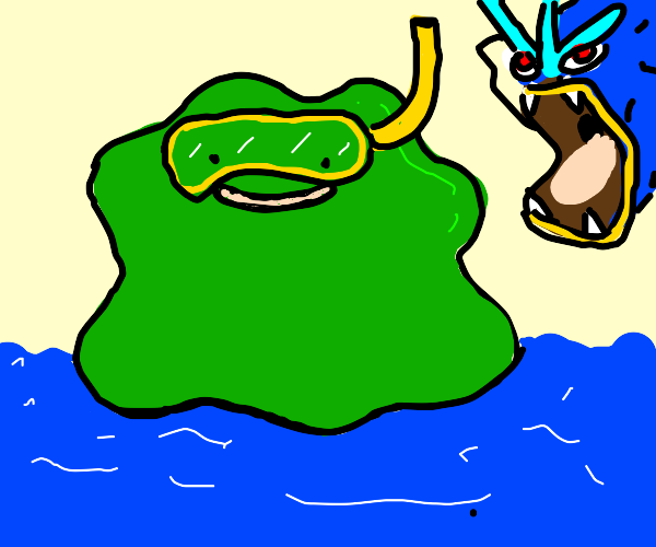green ditto and co. go scuba diving