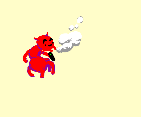 Ant vaping