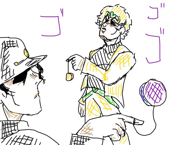 jo jo characters with yo yo's