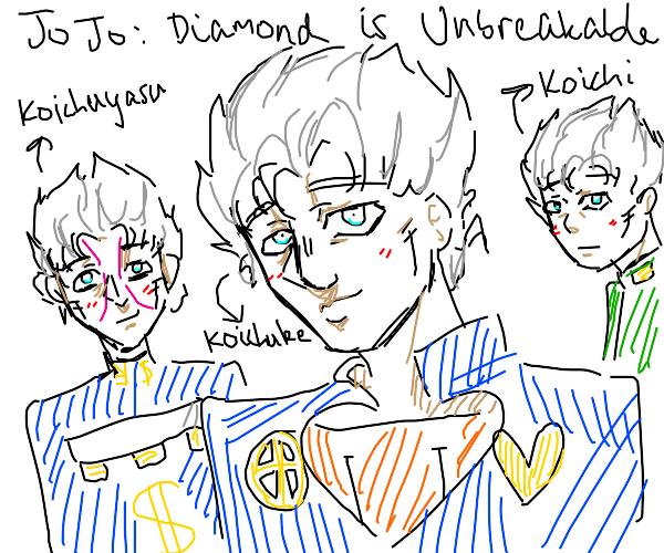 Jjba part 4 except everyone is Koichi