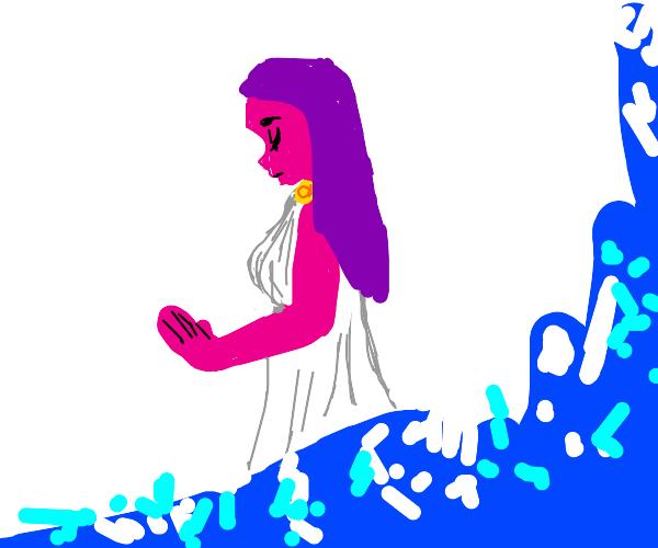 Pink Greek Girl