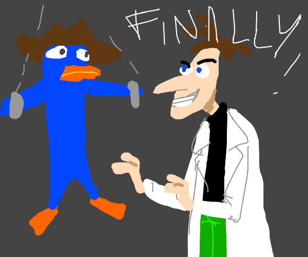 Dr. Heinz tricks Perry the Platypus