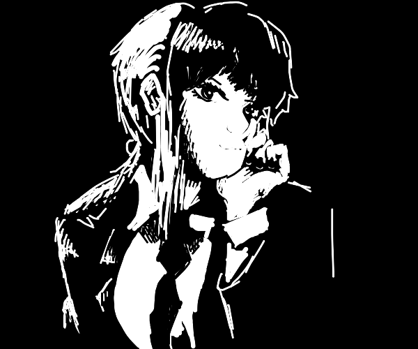 anime girl but gantelmen