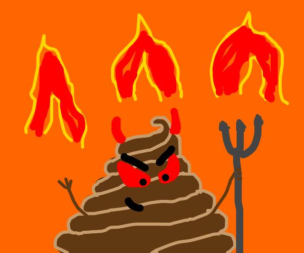 Poop demon