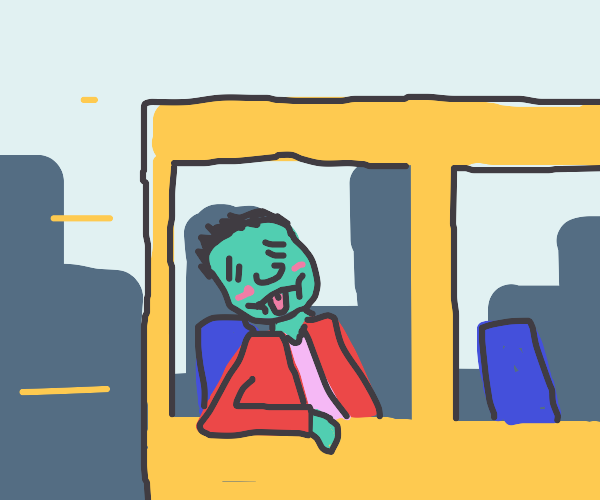 Man has motion sickness