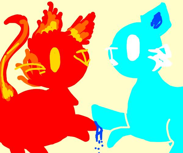 Firecat and icecat